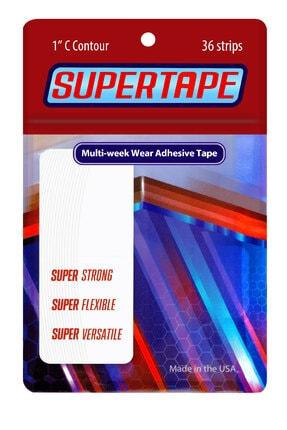True Tape Super Tape Protez Saç Bandı Oval (1''c - 2,5cm X 7.5cm) 36 Adet