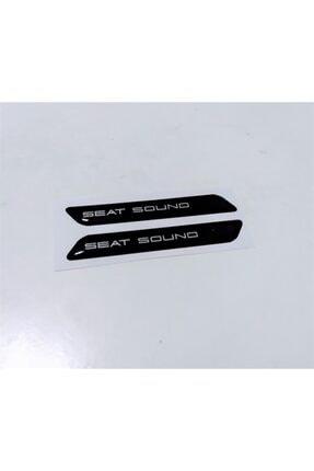 3M Seat Sound 3d Sticker 2 Adet