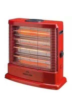 Minisan Maxi Ms-2500 2500 W Quartz Isıtıcı Kırmızı