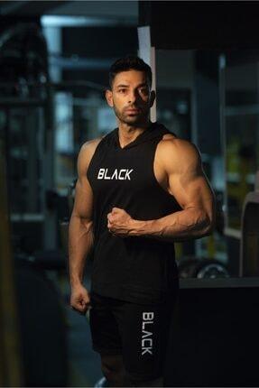 Black İstanbul Black - Kapşonlu Fitness Atleti