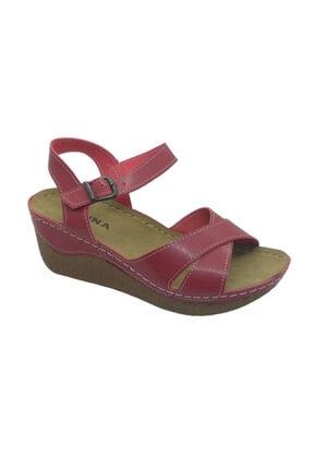 Muya Felina Kırmızı Topuklu Sandalet