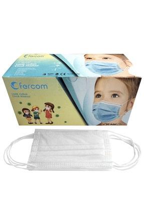 GProdection Maske Gprodection Çocuk Maskesi Beyaz Kutu 50 Adet