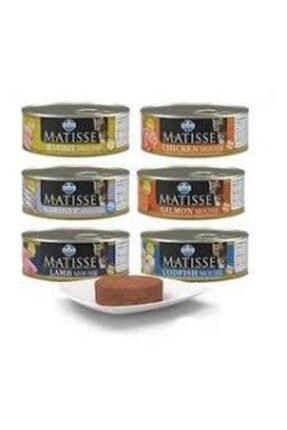 Matisse Konserve Kedi Maması 24x85gr Karışık Paket