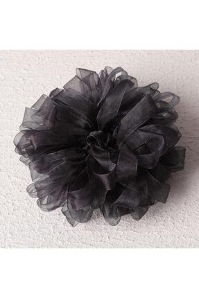 ipekistanbul Kadın Siyah Topuz Tokası