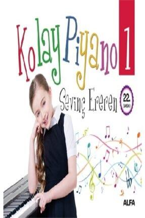 Alfa Yayınları Kolay Piyano 1