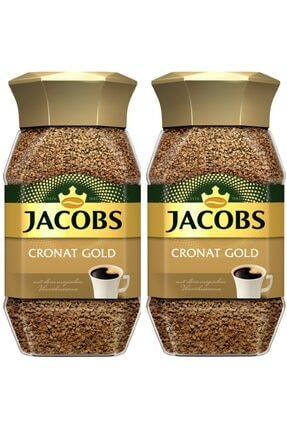 Jacobs Cronat Gold 2*100 Gr Cam Kavanoz
