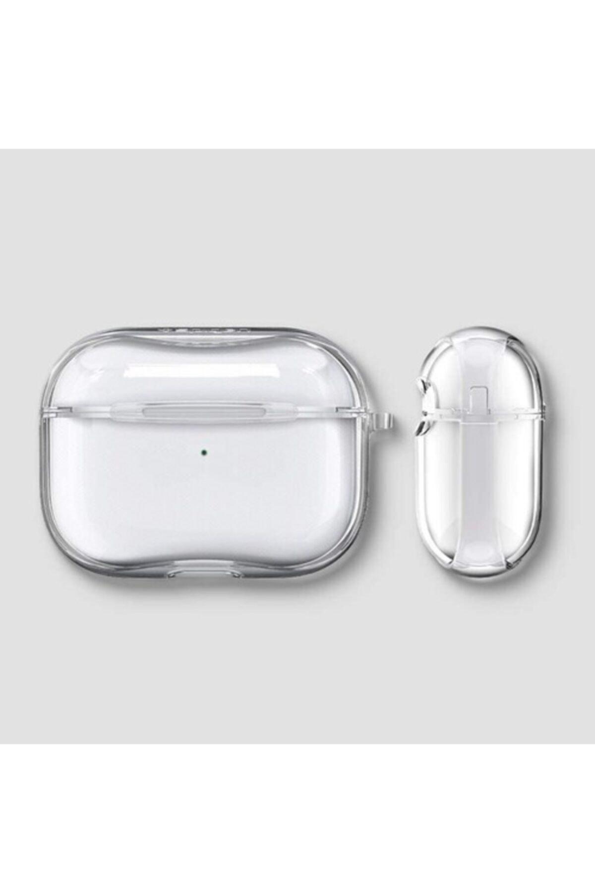 Bilişim Aksesuar Airpods Pro Şeffaf Kılıf Ultra Ince Slim 2