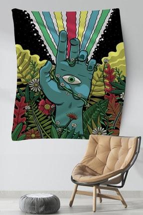 Hediyeler Kapında Gizemli Dekoratif Duvar Örtüsü 100x140