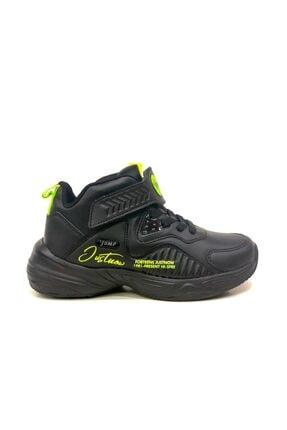 Jump Erkek Çocuk Siyah Basketbol Spor Ayakkabı