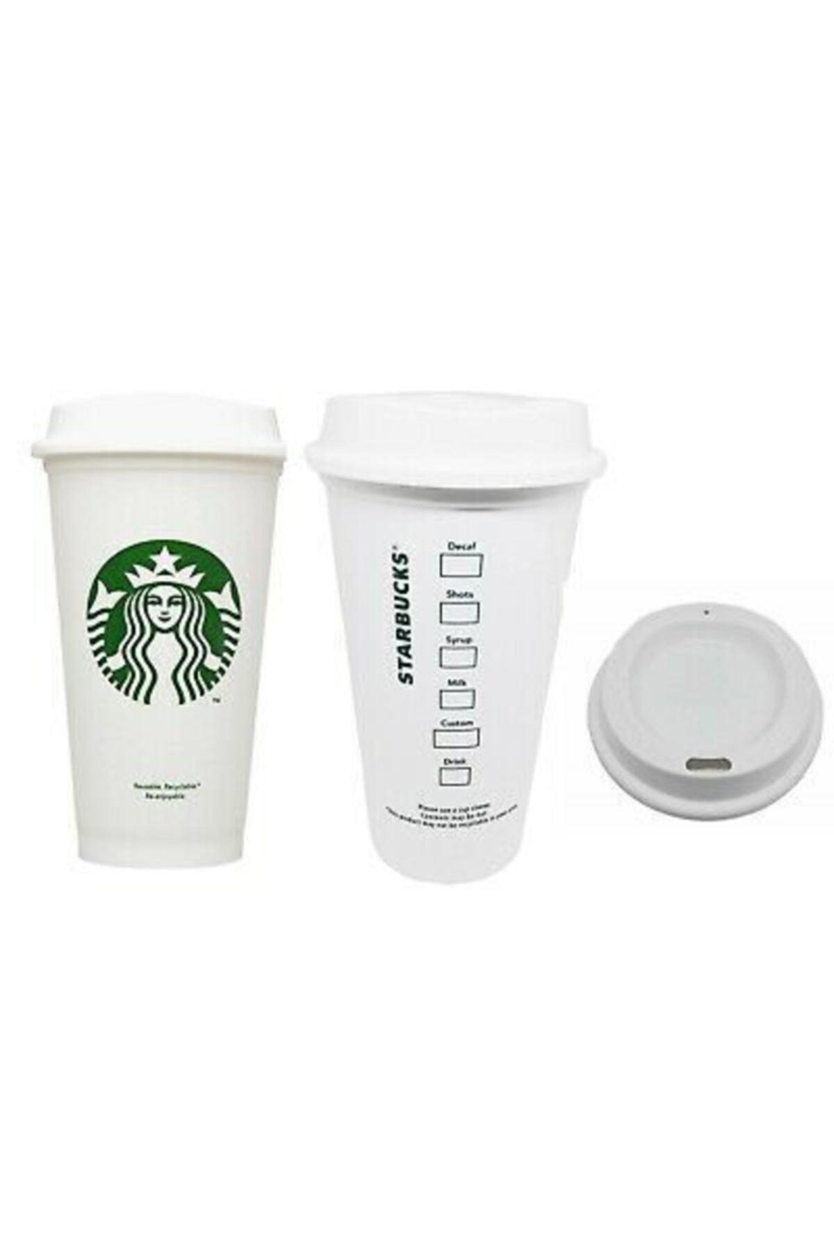 Starbucks Yeniden Kullanılabilir Seyahat Kupası To Go Kahve Fincanı (grande 16 Oz) 1