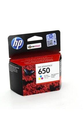 HP 650 Cz102a 1015 / 1515 / 1516 / 2545 / 2546 Orjinal Renkli Kartuş