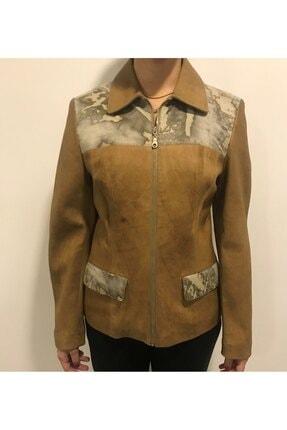 ASUS Kadın Bej Holly Antik Ceket