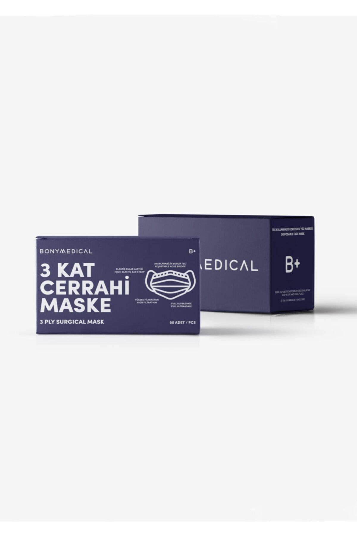 Katia&Bony 50 'li Paket Medikal Maske - Mıx 1