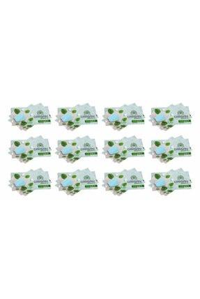 dirisan home's Kağıt Sabun 12 Paket X 15 Adet= 180 Adet Antibakteriyel