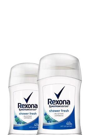 Rexona Kadın Deodorant Stick Shower Fresh 40 Ml X2