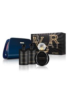 Bvlgari Goldea The Roman Night Edp 75 ml Kadın Parfüm Seti 783320459412