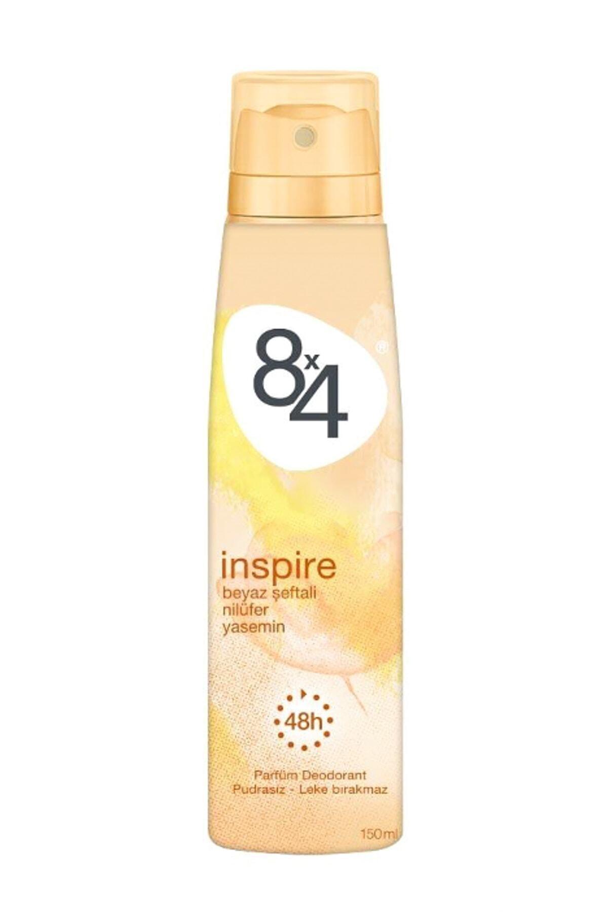 8x4 Inspire Sprey Kadın Deodorant 150 ml 1