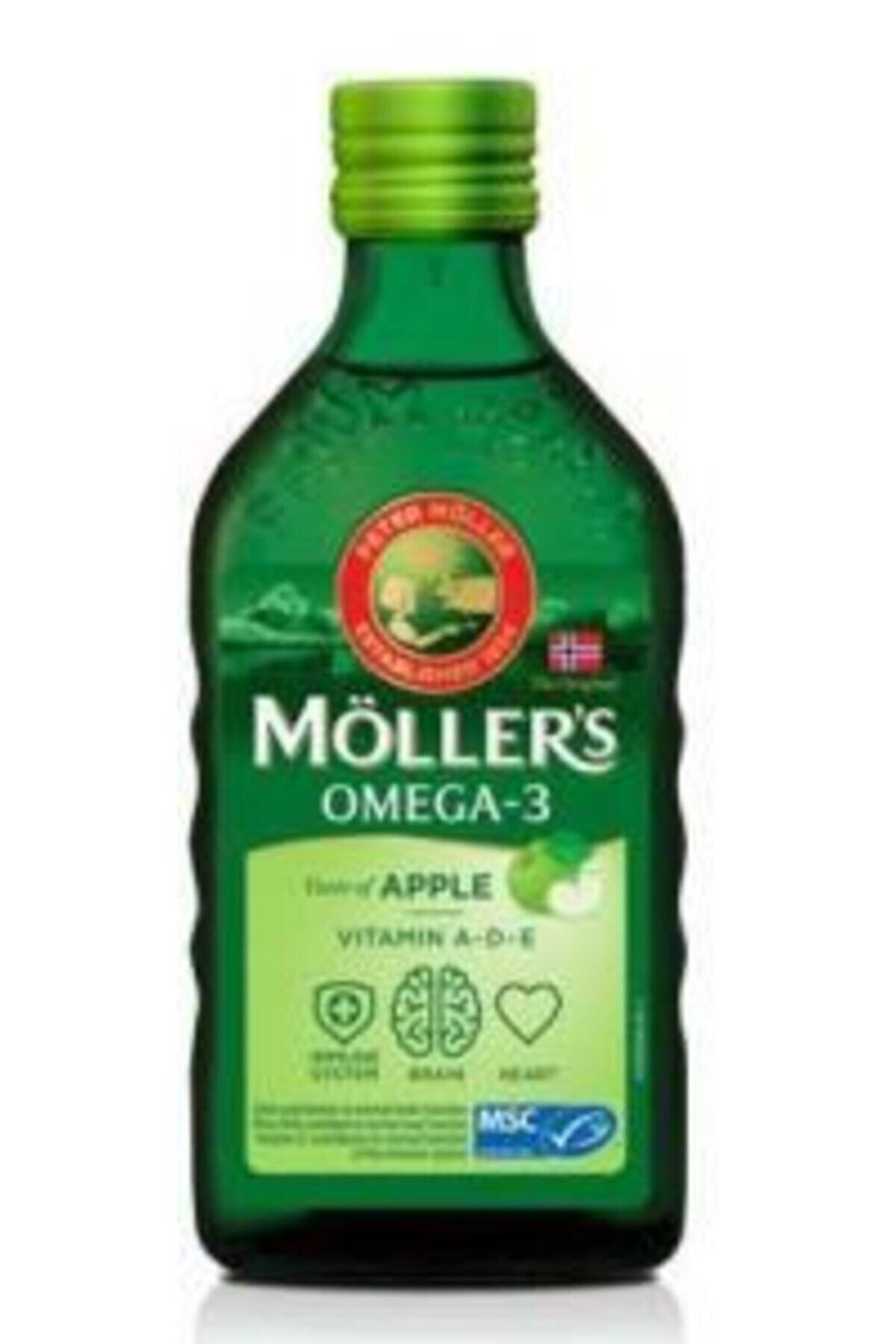Mollers Möllers Balık Yağı Şurubu 250 Ml - Elma 1