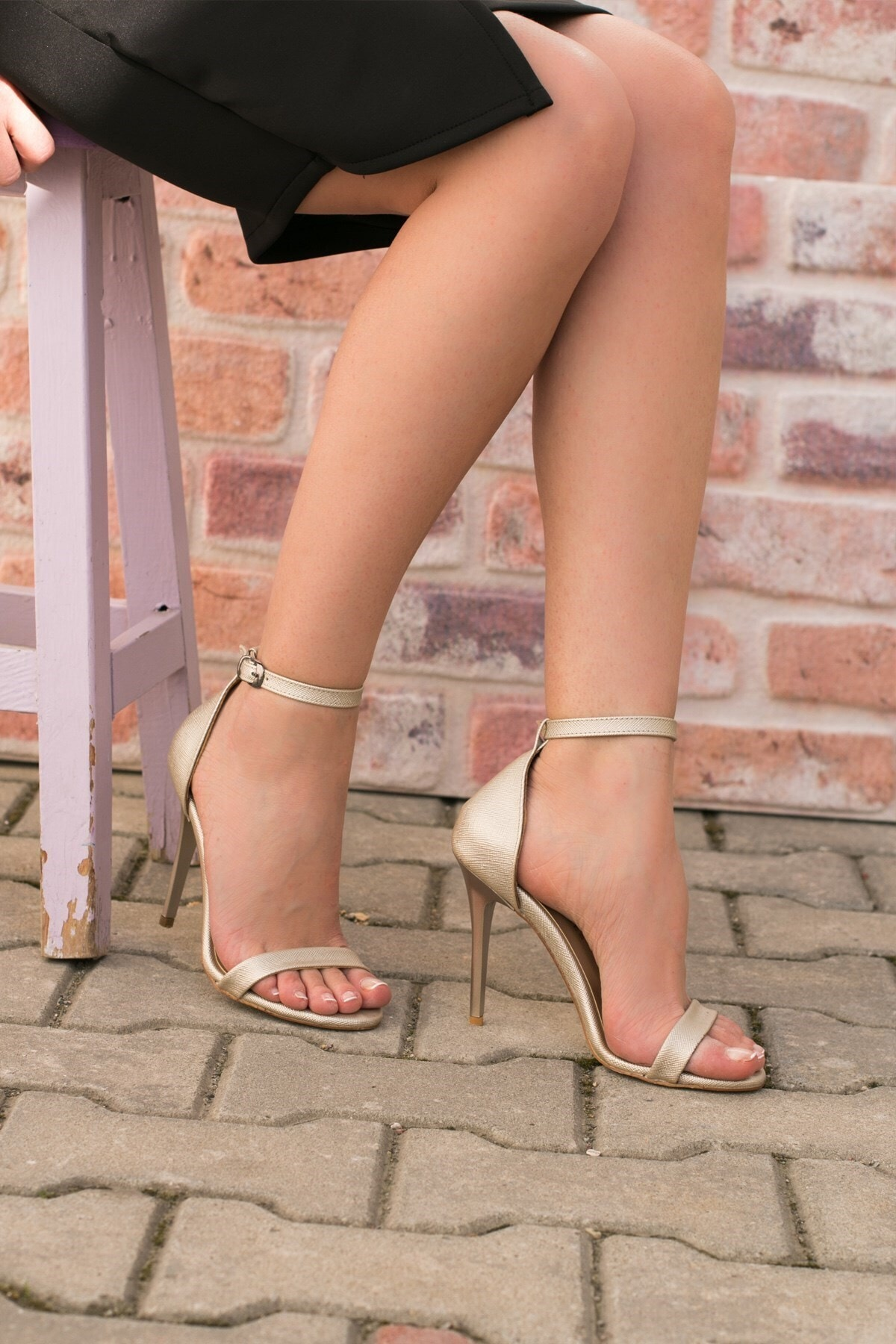 Fox Shoes Kadın Topuklu Ayakkabı 1