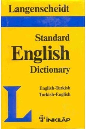 İnkılap Kitabevi Langenscheid Standard English Dictionary English-turkish Turkish-english