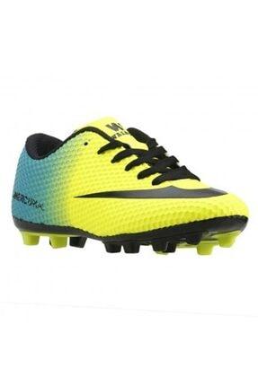 DARKLOW Çim Saha Sarı Yeşil Krampon Halısaha Erkek Futbol Spor Ayakkabı