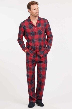 Barbour Laith Pijama Takım Re51 Red Tartan