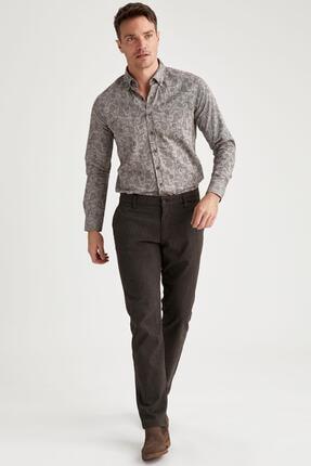 DeFacto Erkek Kahverengi Regular Fit Basic Chino Pantolon M1968AZ.19WN.BN285
