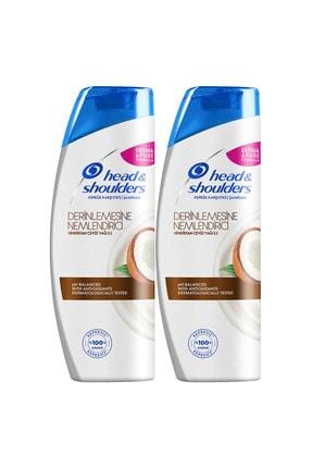 Head&Shoulders H&S Şampuan Kepek Karşıtı Nemlendirici Bakım 400 mlx2