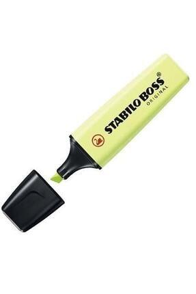 Stabilo Boss Pastel Limon Yeşil Fosforlu Kalem