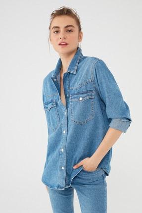 Mavi Kadın Jenny Gold Mavi Denim Gömlek 122245-32530 122245-32530
