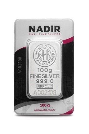 Nadir Gold 24 Ayar 100 Gr Gümüş Külçe