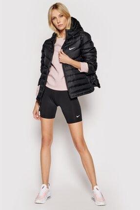Nike Kadın Siyah Tight Fit Yüksek Belli Kısa Biker Tayt