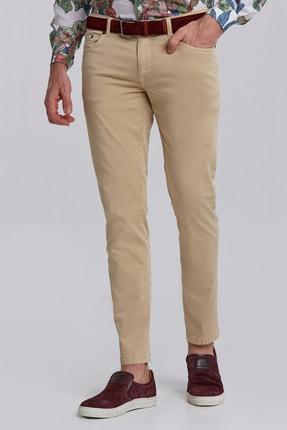 Hemington Slim Fit 5 Cep Camel Yazlık Pantolon