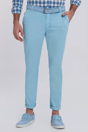 Hemington Turkuaz Pamuk Yazlık Chino Pantolon