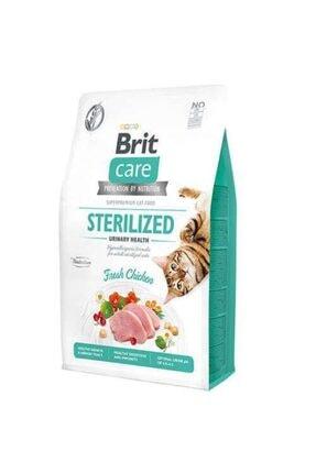Brit Care Sterilised Tavuk Etli Tahılsız Kısırlaştırılmış Kedi Maması Idrar Sağlığı 400 gr