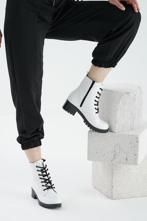 OCT Shoes Günlük Fermuarlı Kadın Bot&bootie Ts1079