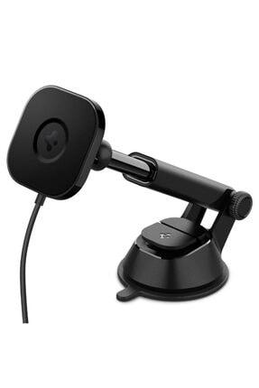 Spigen Onetap Pro Dashboard Araç Tutacağı + Magsafe Manyetik Kablosuz Şarj Cihazı Iphone 12 Serisi I