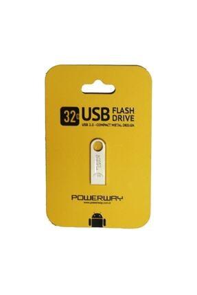 POWERWAY Metal 32gb 2.0 Usb Bellek