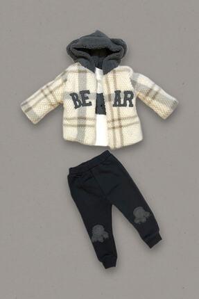 BabyWorldStore Bear Ceketli 3'lü Takım