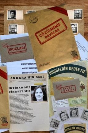 Stoa Çözülmemiş Davalar Dedektiflik Suç Çözümleme Oyunu - Gizem Bulmaca Kutu Oyunları - Suçlu Kim, Cinayeti Çözebilir Misin?