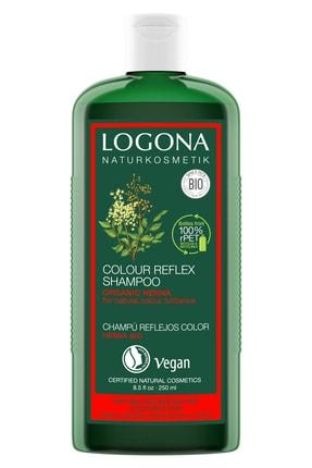 Logona Kızıl–kahve Renkli Saçlar Için Boya Bakım Şampuanı - Organik Kına Özlü 250 ml