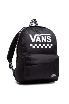 Vans Wm Street Sport Realm Backpack Kadın Siyah Sırt Çantası Vn0a49zj56m1