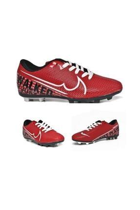 Walked 433 Kırmızı Krampon Futbol Ayakkabısı