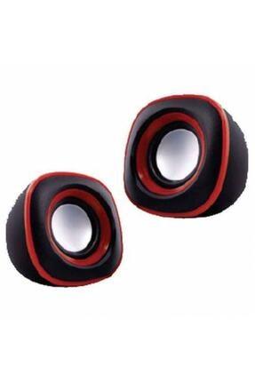 Piranha 5614 Stereo 1 1 Hoparlör-kırmızı