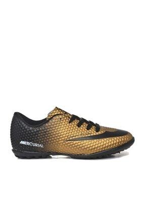 Walked 401 Altın Yaldız Erkek Halı Saha Spor Ayakkabı