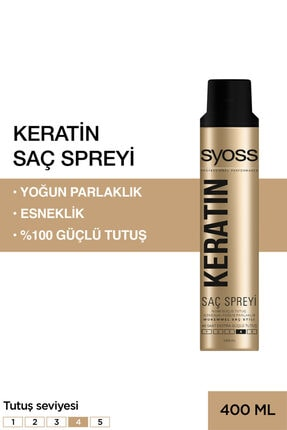Syoss Keratin Sprey 400 ml