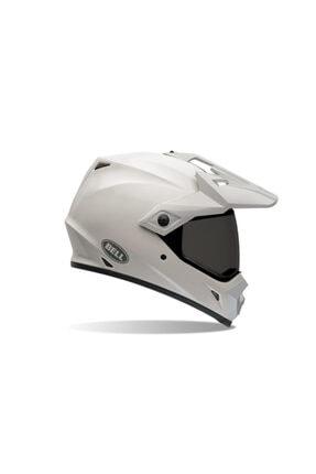 Bell Mx-9 Adventure Beyaz Motosiklet Kaskı