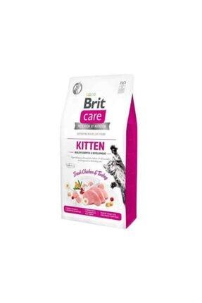 Brit Care Kitten Tavuk Ve Hindili Yavru Kedi Maması 400 gr