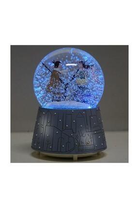 Drc Kış Masalı Kar Küresi Otomatik Püskürtmeli Müzikli Işıklı