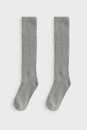 Oysho Pamuklu Orta Boy Çorap